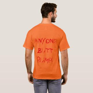 """""""JEDERMANN HINTERN-HINTERTEIL!!!"""" POLITISCHE T-Shirt"""