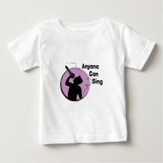 Jedermann kann singen baby t-shirt
