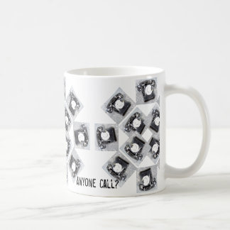 Jedermann nennen Telefon-Entwurf auf Kaffee-Tasse Kaffeetasse