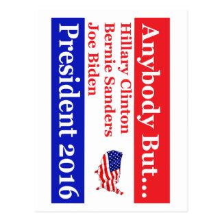 Jedes aber Hillary, biden, Postkarte