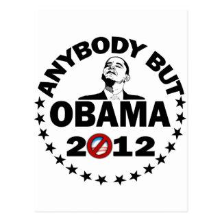 Jedes aber Obama - 2012 Postkarte
