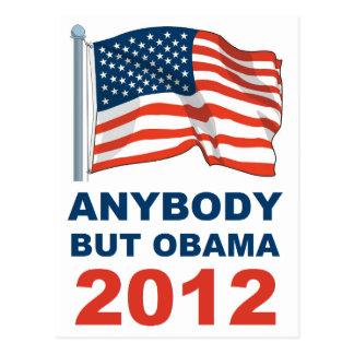 Jedes aber Obama 2012 Postkarte