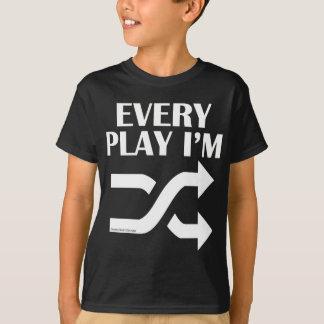 Jedes Spiel bin ich Shufflin T-Shirt