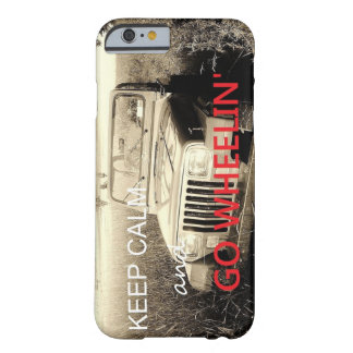 Jeep gehen Wheelin iPhone 6 Fall Barely There iPhone 6 Hülle