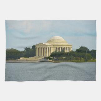 Jefferson-Denkmal im Washington DC Geschirrtuch