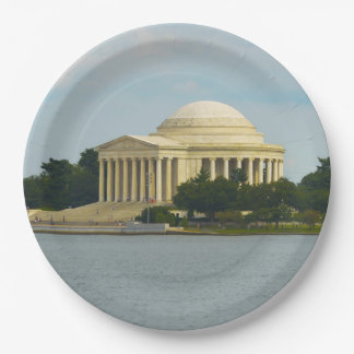 Jefferson-Denkmal im Washington DC Pappteller