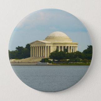Jefferson-Denkmal im Washington DC Runder Button 10,2 Cm