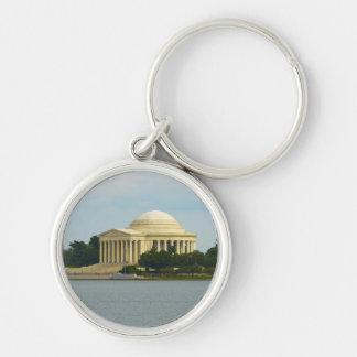 Jefferson-Denkmal im Washington DC Schlüsselanhänger