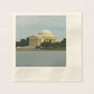 Jefferson-Denkmal im Washington DC Serviette