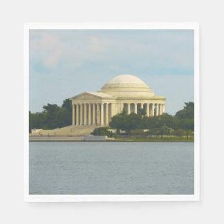 Jefferson-Denkmal im Washington DC Servietten