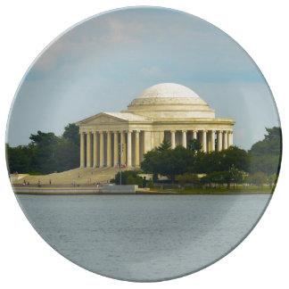 Jefferson-Denkmal im Washington DC Teller