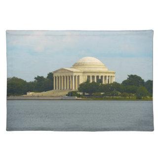 Jefferson-Denkmal im Washington DC Tischset
