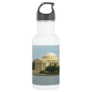 Jefferson-Denkmal im Washington DC Trinkflasche