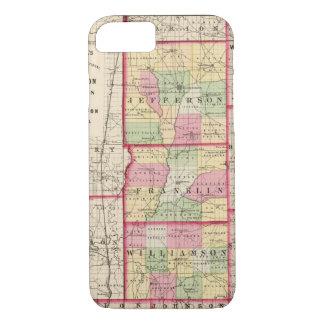Jefferson, Franklin, Williamson-Landkreise iPhone 8/7 Hülle