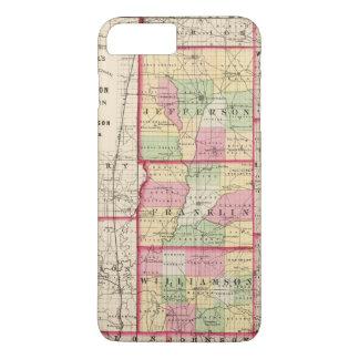 Jefferson, Franklin, Williamson-Landkreise iPhone 8 Plus/7 Plus Hülle