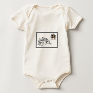 Jefferson in Monticello Baby Strampler
