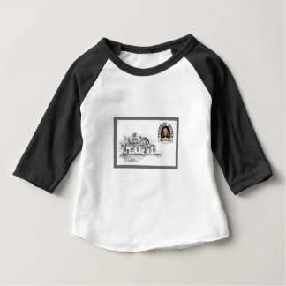 Jefferson in Monticello Baby T-shirt