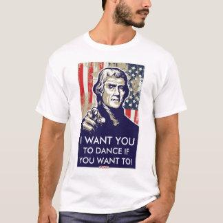 Jeffersonerinnerungstanz-Shirt T-Shirt