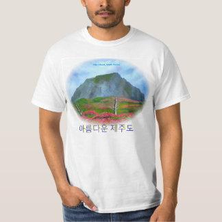 Jeju-Insel-koreanischer Text (제주도) T-Shirt