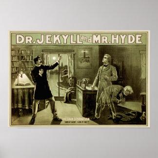 Jek u. Hyde-Plakat - Olive (ursprüngliche Farbe) A Poster