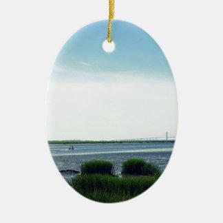 Jekyll Insel-Dock Ovales Keramik Ornament