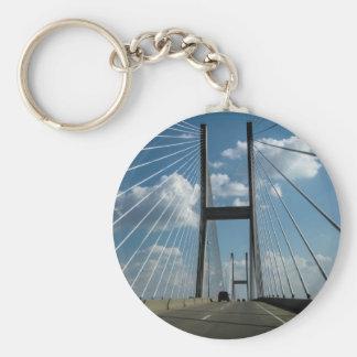 Jekyll Insel-Kabel-Brücke Standard Runder Schlüsselanhänger