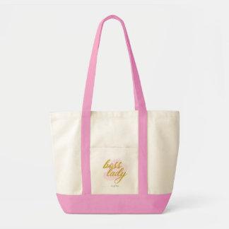 """JEM große rosa Tasche Tasche """"Chef-Damen-"""""""