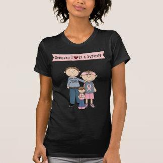 Jemand i-Liebe ist ein Überlebender T-Shirt