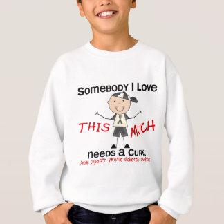 Jemand i-Liebe - jugendlicher Diabetes (Junge) Sweatshirt