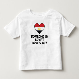 Jemand in Ägypten-Lieben ich Kleinkind T-shirt