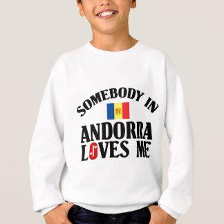 Jemand in Andorra Sweatshirt