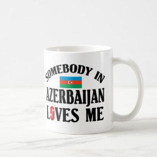 Jemand in Azerbaijan-Lieben ich Kaffeetasse