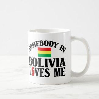Jemand in Bolivien-Lieben ich Kaffeetasse