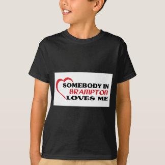 Jemand in Brampton Lieben ich T-Shirt