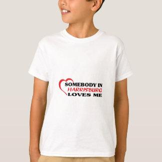 Jemand in Harrisburg-Lieben ich T-Shirt