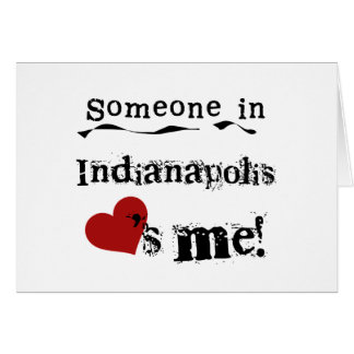 Jemand in Indianapolis Karte