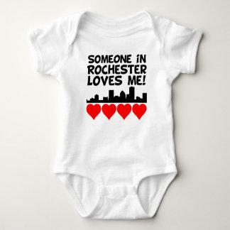 Jemand in Lieben Rochesters New York ich Baby Strampler