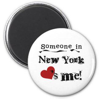 Jemand in New- YorkLieben ich Runder Magnet 5,7 Cm