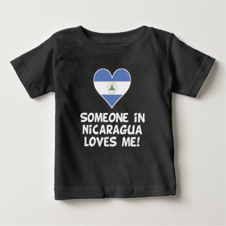 Jemand in Nicaragua-Lieben ich Baby T-shirt