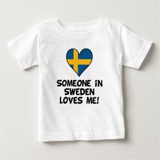 Jemand in Schweden-Lieben ich Baby T-shirt