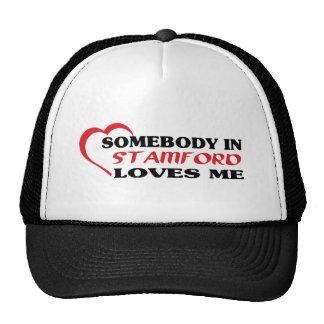 Jemand in Stanton Lieben ich T-Shirt Retrokultcap