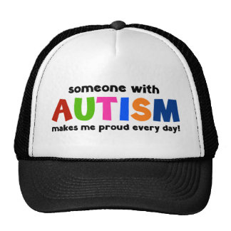 Jemand mit Autismus macht mich stolz jeden Tag Baseballmütze