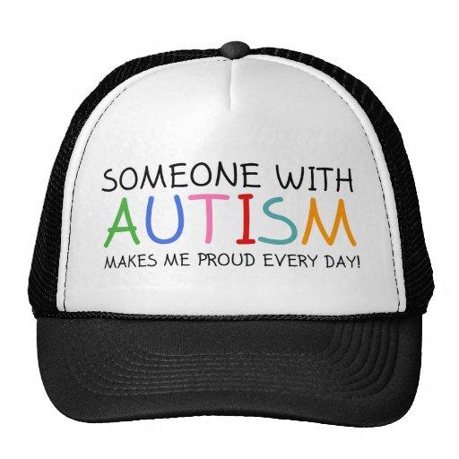 Jemand mit Autismus macht mich stolzes tägliches Baseballkappe