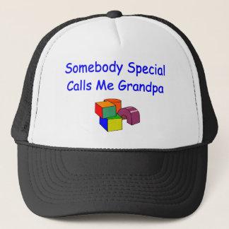Jemand spezielle Anrufe ich Großvater-Hut Truckerkappe