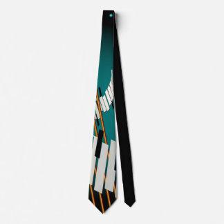 Jene Elfenbein-Schlüssel Personalisierte Krawatte