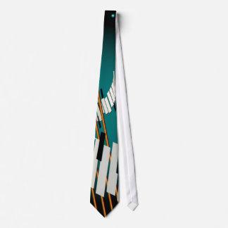 Jene Elfenbein-Schlüssel Personalisierte Krawatten