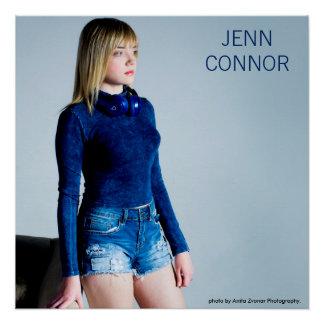 Jenn Connor stehen oben Plakat Poster