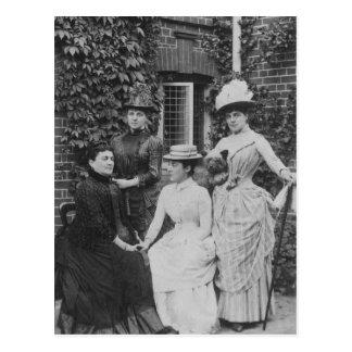 Jennie Jerome, neuere Dame Randolph Churchill Postkarte