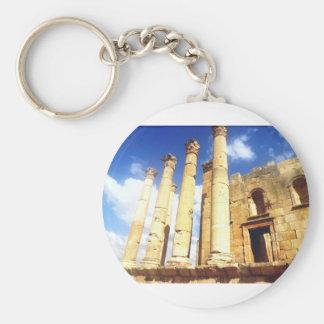 Jerash römische Säulen Schlüsselanhänger