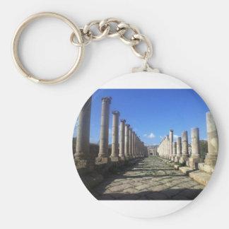 Jerash römische Straße Schlüsselanhänger